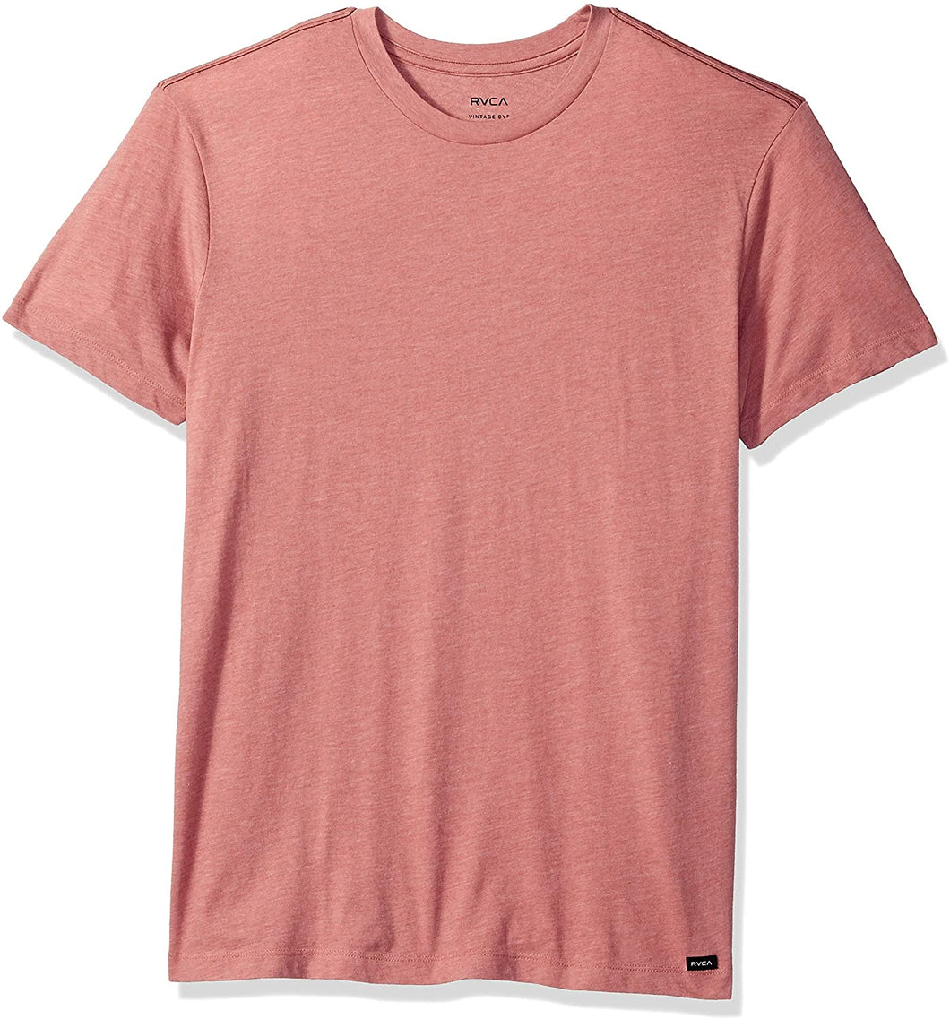 RVCA Men's Solo Label Short Sleeve Crew Neck T-Shirt