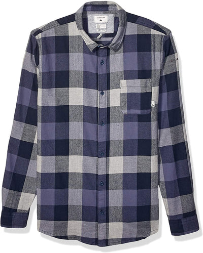 Quiksilver Men's Motherfly Long Sleeve Flannel Shirt