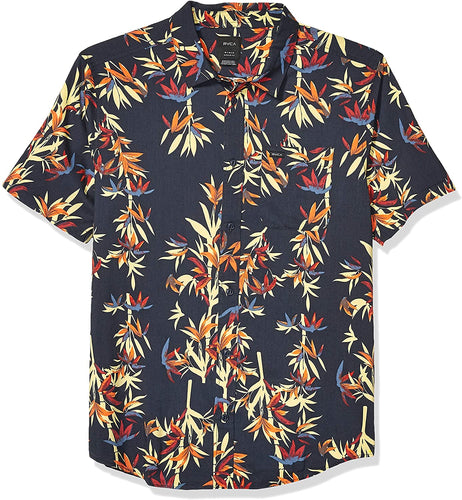 RVCA Men's Bamboozled Button-Up Shirt
