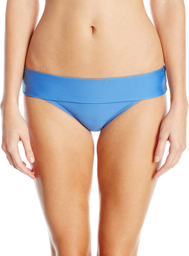Splendid Women's Hamptons Solid Banded Pants Blue Swimsuit Bottoms SM (Women's 2-4)
