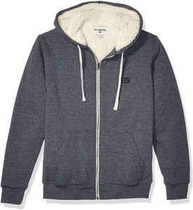Billabong Men's All Day Sherpa Zip Sweatshirt