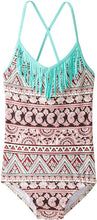 Load image into Gallery viewer, Billabong Big Girls' Hippie Grom One-Piece Swimsuit, Seashell, 7