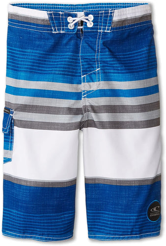 O'Neill Kid's (Little Boy's) Santa Cruz Stripe, (BLU) Blue, Kid's Size Small (4)