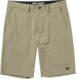 Billabong Boy's Crossfire X Submersible Walkshort, (KHA) Khaki, Kids Size Small (4)