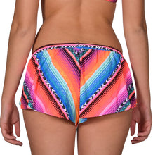 Load image into Gallery viewer, Rip Curl Women's Lolita Boardwalk Mexican Print Lycra Cover-Up Short