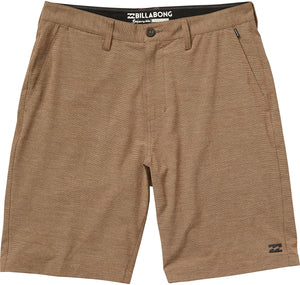 Billabong Boy's Crossfire X Submersibles Walkshorts, (BRK) Bark