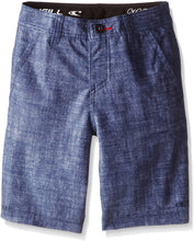 Load image into Gallery viewer, O'NEILL Boy's Loaded Hybrid Walkshorts, (DNY) Dark Navy, Boys Size 24