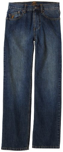 Quiksilver Boy's Volume Denim Pants, Blue, Boy's Size 26