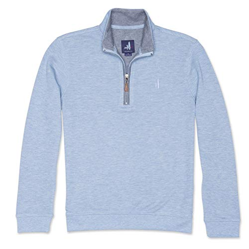 Johnnie-O Boys Sully 1/4 Zip Pull Over Fleece, Big Sky, Size 12