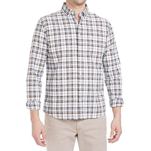 Johnnie-O Men's Tybee Button Down Shirt, Gulf Blue