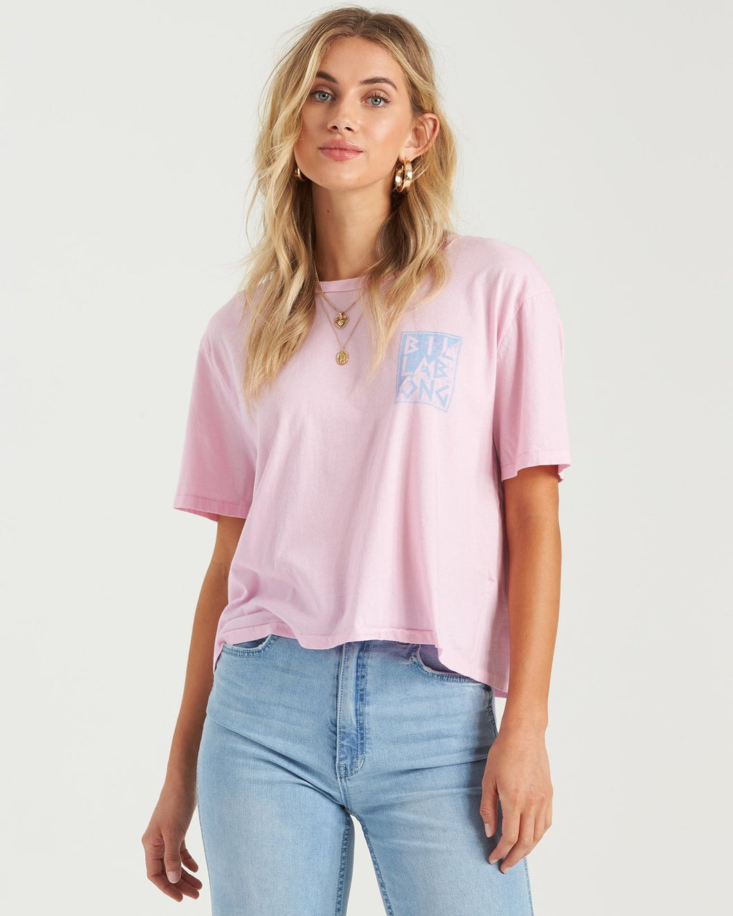 Billabong Women's Rad Day T-Shirt, Rose Dawn