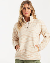 Load image into Gallery viewer, Billabong Women's Boundary Mock Neck Fleece, Neutral