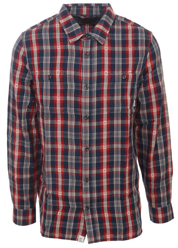 Vans Men's Canehill Long Sleeve Flannel Shirt