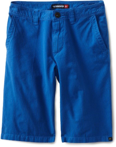 Quiksilver Boy's Check It Shorts, Blue, Boy's Size 24