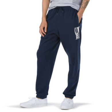 Check Stack Men's Feece Sweatpant (Joggers), Dress Blues - Indi Surf