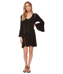 O'Neill Women's Estella Coverup, (BLK) Black, Size Small