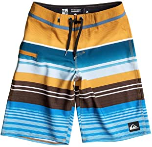Quiksilver Boy's Everyday Stripe Vee 19