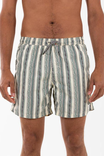 Katin Men's Jack Stripe Elastic Swim Trunks, Wool