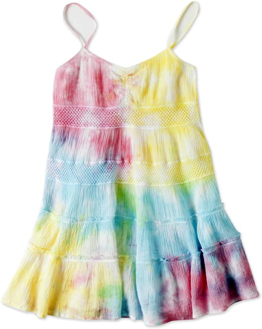 O'Neill Girls Kiki Dress, (MUL) Multicolored, Girls Size Medium