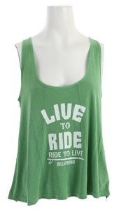 Billabong Women's Ready Go Tank, GOG, Size Small