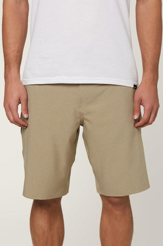 O'Neill Men's Loaded Heather Hybrid Walkshorts, Khaki
