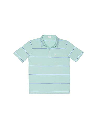 Johnnie-O Boys Marley Short Sleeve Polo Shirt, Fern