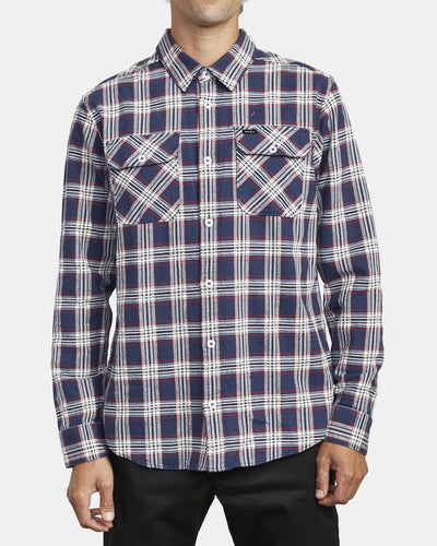 RVCA That'll Do Men's Long Sleeve Flannel Shirt