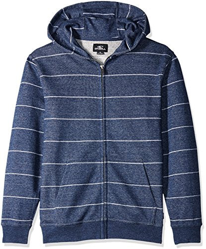 O'Neill Boy's Murphy Zip Fleece Hoodie, Navy