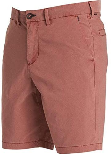 Billabong Boy's New Order X Overdye Submersible Walkshorts, (IND) Indigo & (RDR) Red
