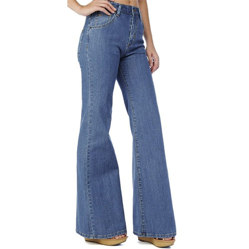 RVCA Women's Ritual Bell-Bottom Denim Jeans, (RIV)