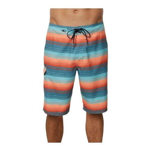 O'Neill Men's Santa Cruz Stripe Boardshort, DTL, Size 29