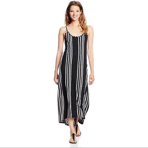 Rip Curl Women's Shifting Stripes Dress, (BLK) Black, Size Medium