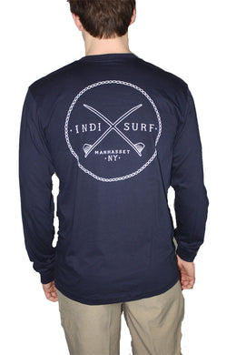 indi surf t-shirt t shirt tshirt tee shirt manhasset surf shop skate shop new york mens