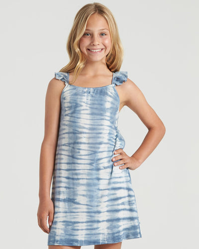 Billabong Girl's Surf Tides Dress, Surf Blue