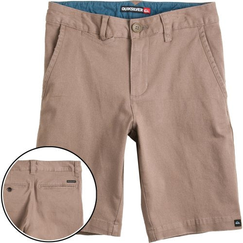 Quiksilver Boy's The Standard Shorts, Brown