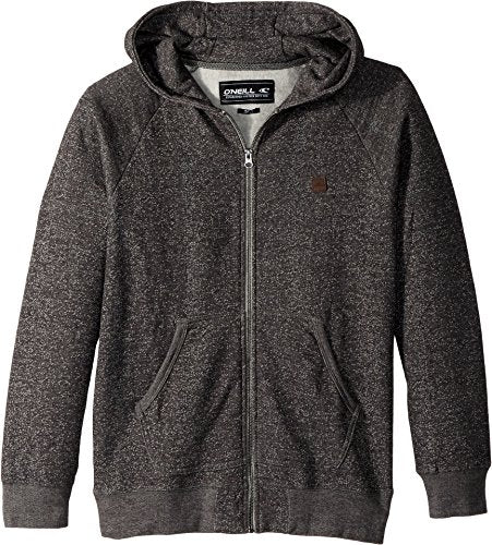 O'Neill Boy's The Standard Thermal Zip Hoodie, Heather Grey