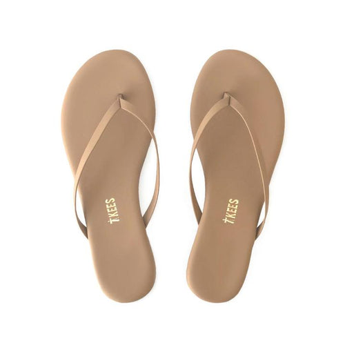 Tkees Women's Lili Vegan Sandals, Matte Nude