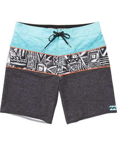 Billabong Boy's Tribong X Boardshorts, (PHA) Phantom, Boys Size 26