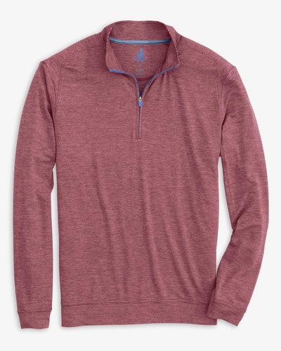Johnnie-O Men's Vaughn 1/4 Zip Performance Pullover, Red