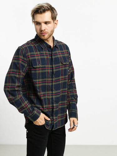 Vans Men's Westminster Flannel Shirt, Dress Blues