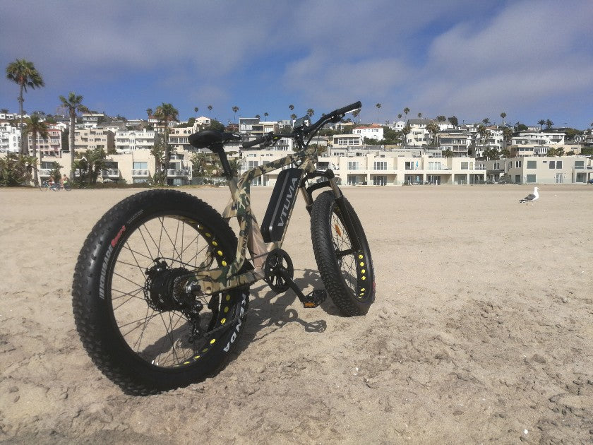 What are the features of fat tire electric bicycles?