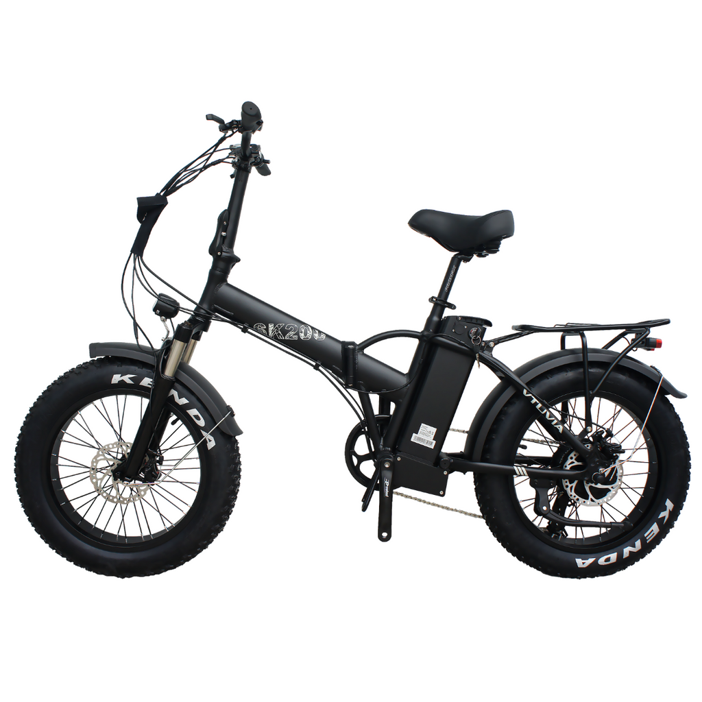 VTUVIA SK20 20 Inch Folding Fat Tire Electric Bike, 750W Motor, 48V 13AH Removable Battery-In Stock & Fast Delivery - Vtuviaebike