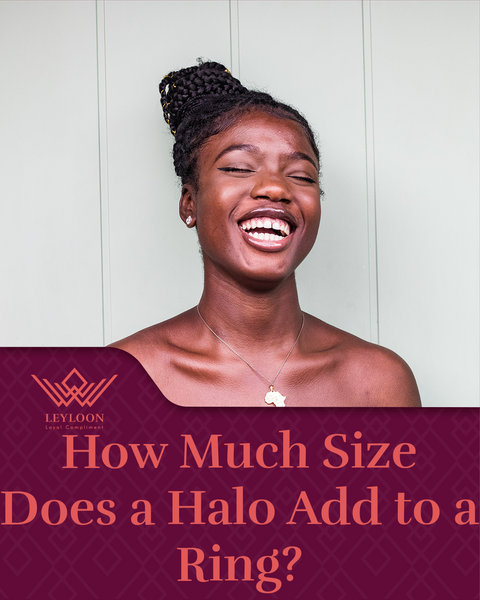How Much Size Does a Halo Add to a Ring?