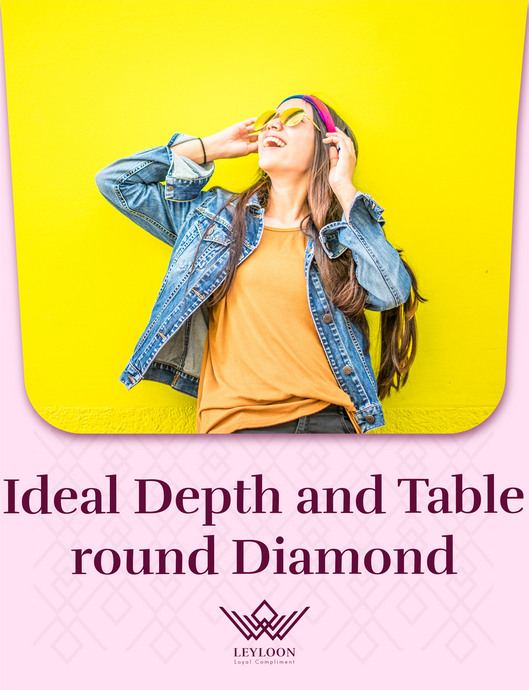 Ideal Depth and Table round Diamond