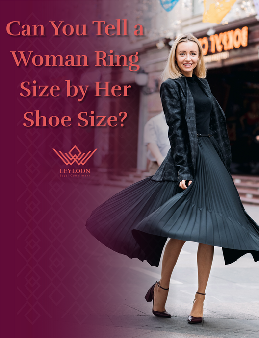 Can You Tell a Woman Ring Size by Her Shoe Size?