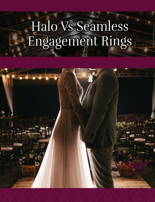 Halo Vs Seamless Engagement Rings