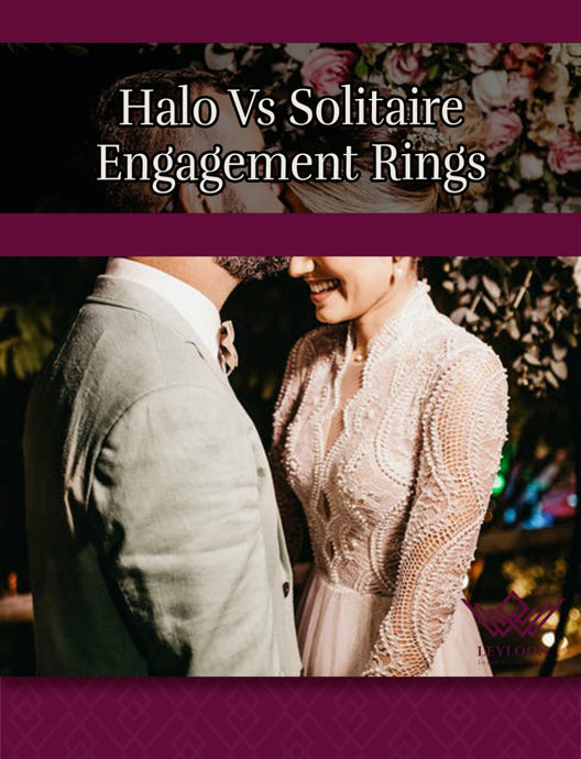 Halo Vs Solitaire Engagement Rings