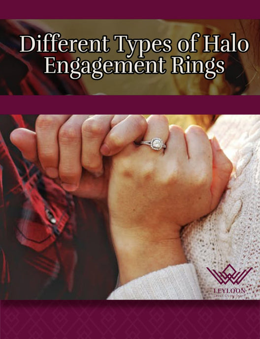 Different Types of Halo Engagement Rings