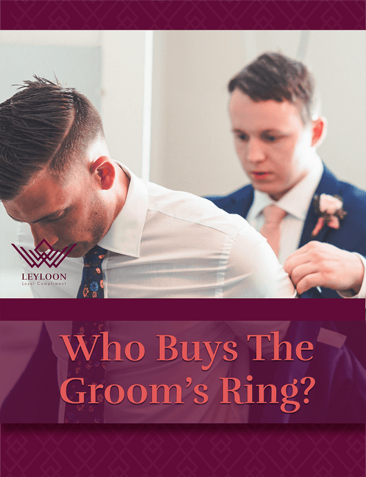 Who Buys The Groom's Ring?