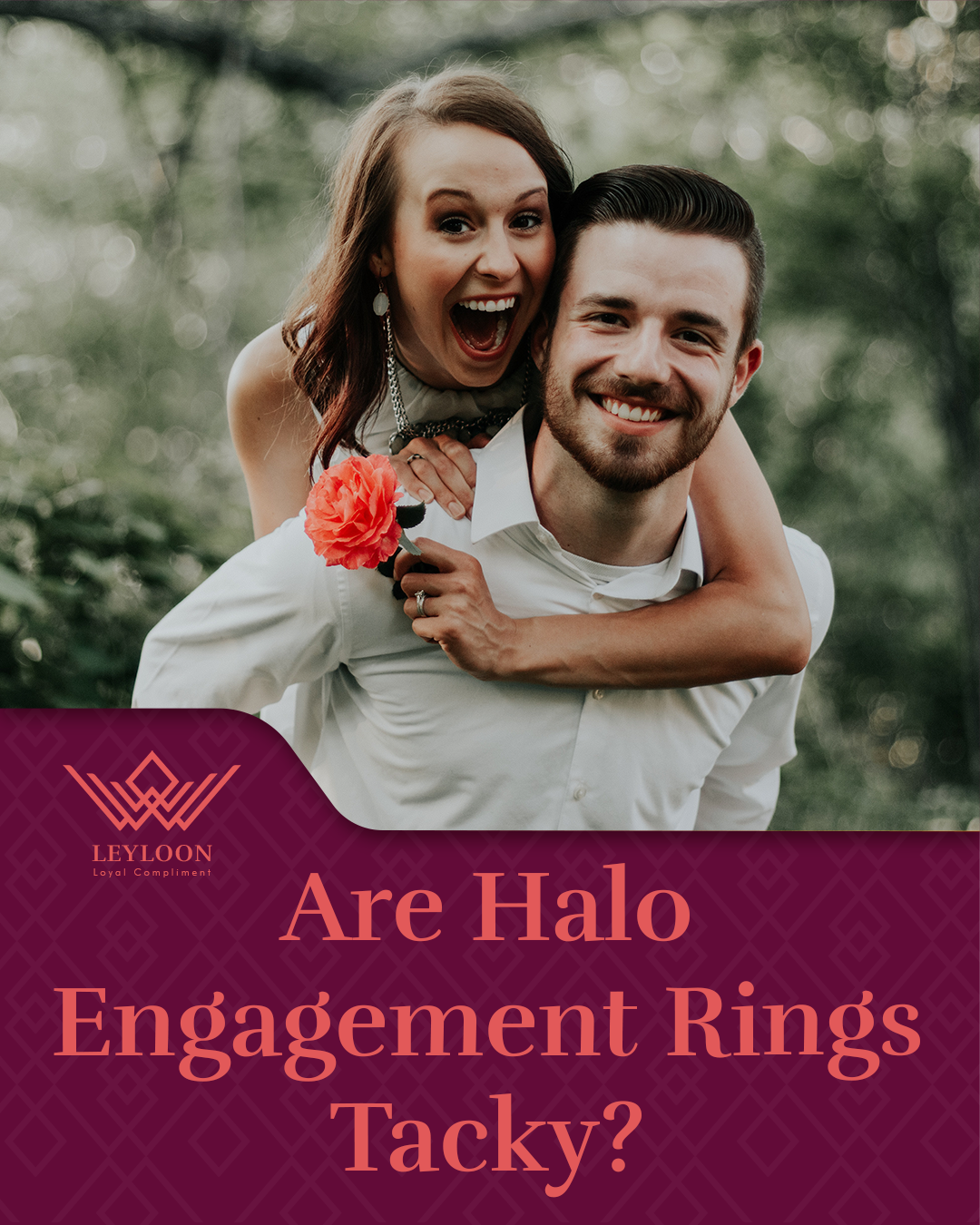 Are Halo Engagement Rings Tacky?